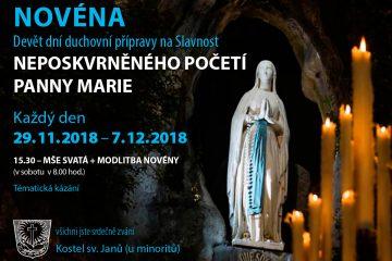 Novéna kNeposkvrněnému Početí Panny Marie